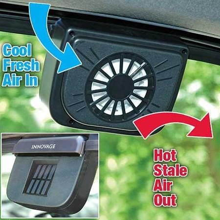 TV items | מאוורר סולארי לרכב | AUTO COOL
