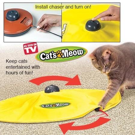 TVITEMS | מוצרים לבעלי חיים | משחק לחתול | Cat's Meow