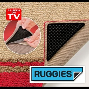 מוצרים לבית ולגן | Ruggies | משטח נוגד החלקה לשטיח