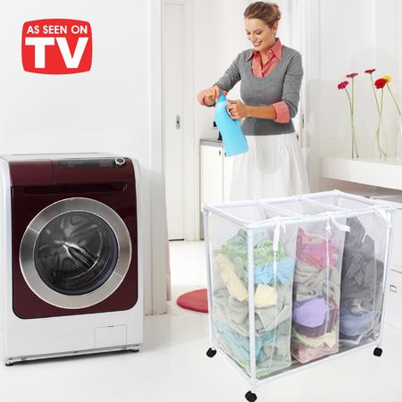 TV items | מוצרים לבית לגן | סל כביסה מפואר