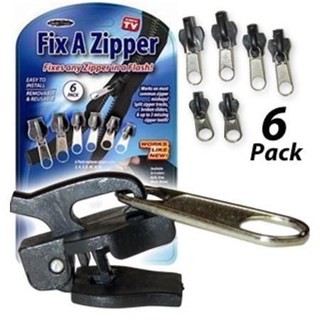 רוכסן להחלפה |  מוצרים לבית ולגן | tv items | FIX A ZIPPER