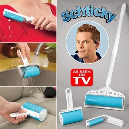 רולר לניקוי לכלוך שערות ואבק | tv items | מוצרים לבית ולגן | Schticky