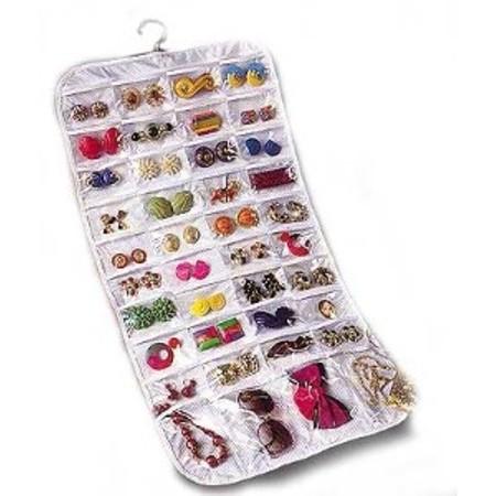 ארגונית תכשיטים 80 כיסים | מוצרים לבית ולגן | טיפוח ויופי | TV Items