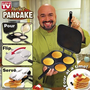 מחבת להכנת פנקייק  | tv items | Perfect Pancake