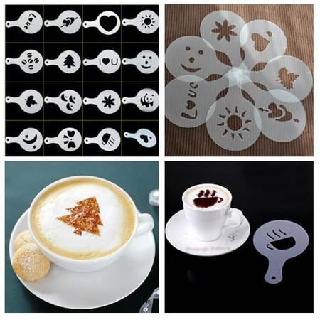 16 שבלונות לקפה