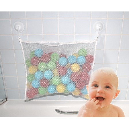 סל צעצועים חזק מונע עובש הוא בדיוק הפתרון המושלם לבאלגן במקלחת