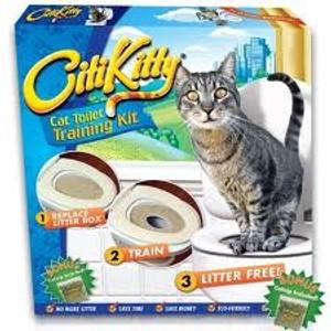 מוצרים לבעלי חיים | ערכת לימוד לחתול לעשיית צרכים | CitiKitty