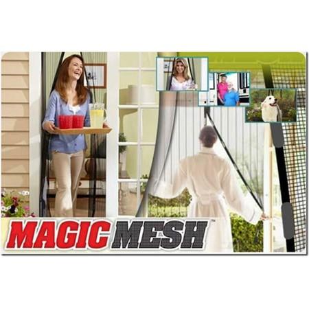 TV items | מוצרים לבית לגן | וילון רשת מגנטי MAGIC MESH