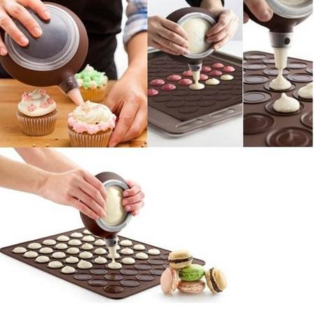 TVITEMS | מוצרים למטבח | תבנית להכנת עוגיות מקרונים