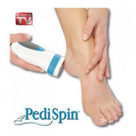 Pedi spin   לכף הרגל , מסיר עור כמו בפדיקור מקצועי
