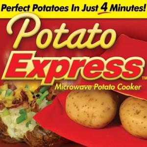 אפיית תפוחי אדמה במיקרוגל תוך 4 דקות POTATO EXPRESS