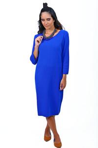 שמלת סריג כחולה
