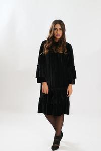 שמלת וולן קטיפה