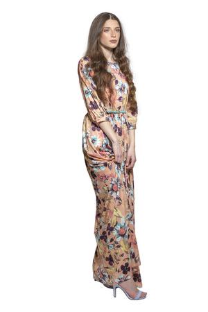שמלת אביב גוון כתום