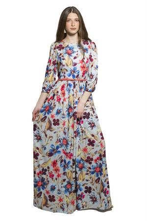 שמלת אביב גוון תכלת