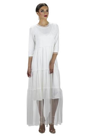 שמלת לריסה לבנה