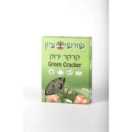 קרקר ירוק - RAW VEGAN