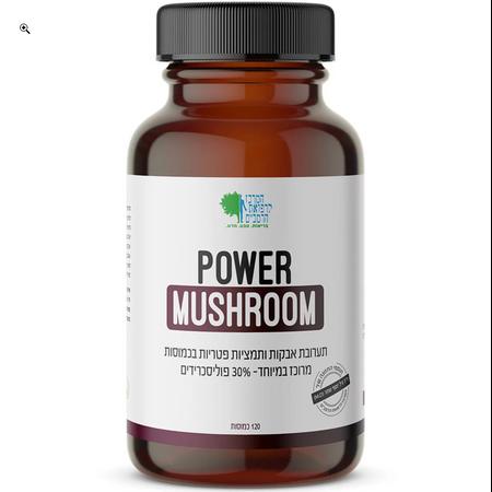 Power Mushroom (פאור משרום - פטריות עוצמתיות)