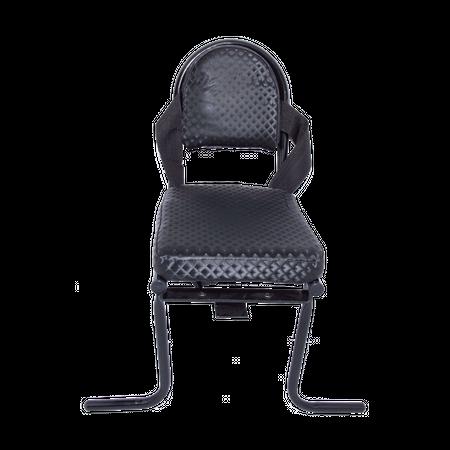 כיסא אחורי לילד עם רגליים וחגורה