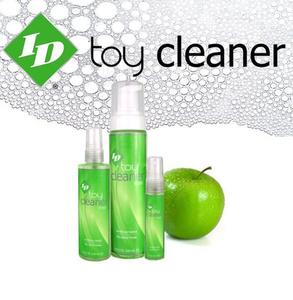 """ID Toy Cleaner - 130 מ""""ל / ספריי לחיטוי וניקוי אביזרי מין"""