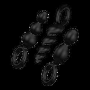 Analplugs black - פלאג אנאלי של סטיספייר