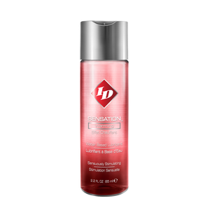 "ID Sensation - 65 מ""ל / נוזל סיכוך מתחמם על בסיס מים"