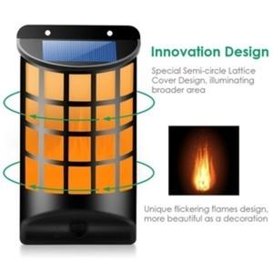 מנורה לרקוד להבה LED אנרגיה סולארי לפיד אור קישוט