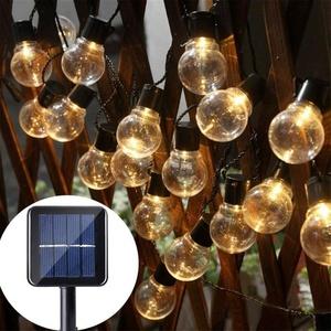 מנורות גלוב כדור חיצוני 30 led צבע חם