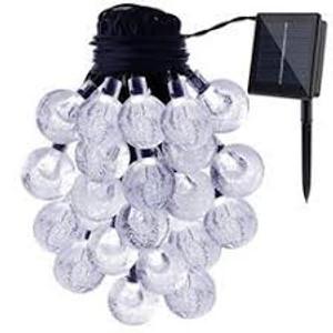 שרשרת כדורים אורות מחרוזת 30לד חום