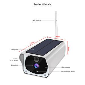 מצלמת אבטחה אלחוטית סולארית