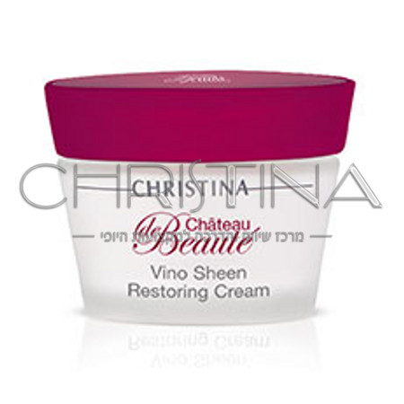 Chateau De Beaute Vino Sheen Restoring Cream 30ml