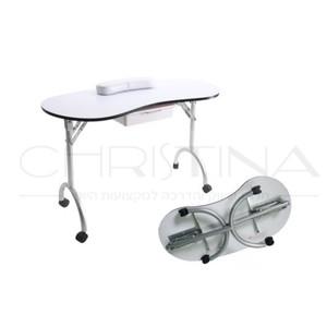 שולחן נייד/מתקפל למניקור