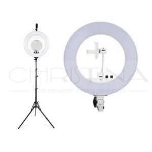 תאורת איפור מקצועית Ring Light