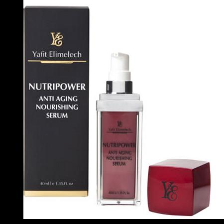 nutripower anti aging nourishing serum - סרום אנטי אייג'ינג מזין