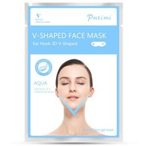 v-shaped face mask - מסכה למיצוק וחיטוב קו הסנטר והצוואר