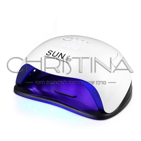 מנורת UV LED לייבוש לק ג'ל בניית ציפורניים וג'ל אקריל