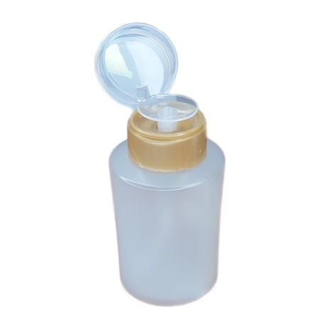 """מנדה פלסטיק עגול 180 מ""""ל"""