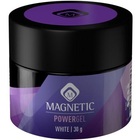 POWERGEL WHITE - פוליג'ל לבנייה וחיזוק הציפורניים בגוון לבן