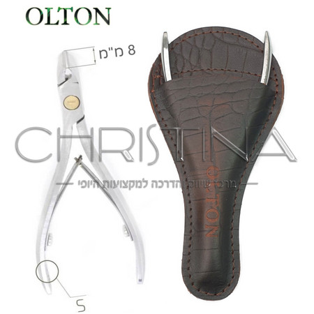 צבתית מקצועית לקוטיקולה מידה OLTON - S