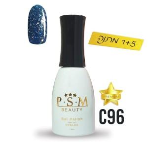 לק ג'ל פרימיום P.S.M Beauty גוון - C96