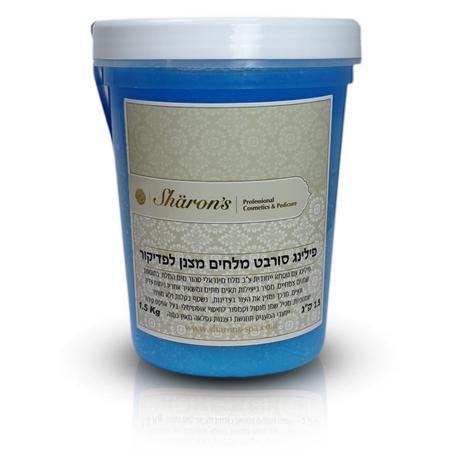 Sharon's Dead Sea Body Cooler Sorbet Peeling For Pedicure & Manicure - פילינג סורבט מלחים מצנן לפדיקור