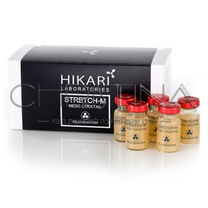 מזו-קוקטייל לטיפול בצלקות לאחר אקנה וסימני מתיחה - HIKARI Atretch-M Meso-Cocktail