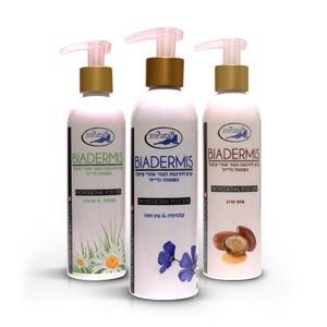 biadermis- קרם להרגעת העור אחרי טיפול בשעווה ולייזר- דגמים שונים