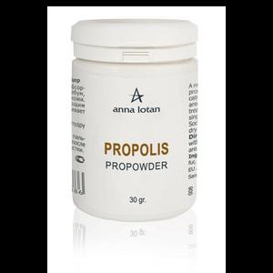 אבקת פרופוליס להרגעת העור - ANNA LOTAN Propolis ProPowder