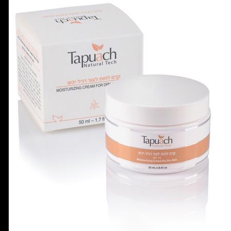 קרם לחות לעור רגיל עד יבש - Tapuach Moisturizing Cream For Dry Skin With SPF15
