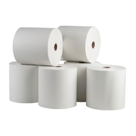 6 יחידות גלילי נייר מגבת למתקן (354 מטר כל גליל)