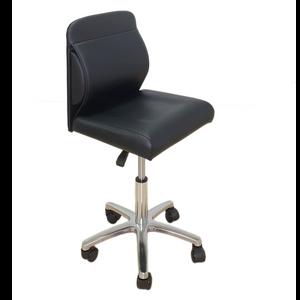כיסא פדיקור וקוסמטיקה עם כרית גב מובנית