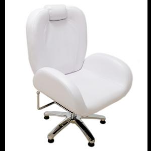 כיסא רחב לפדיקור \ איפור עם משענת ראש