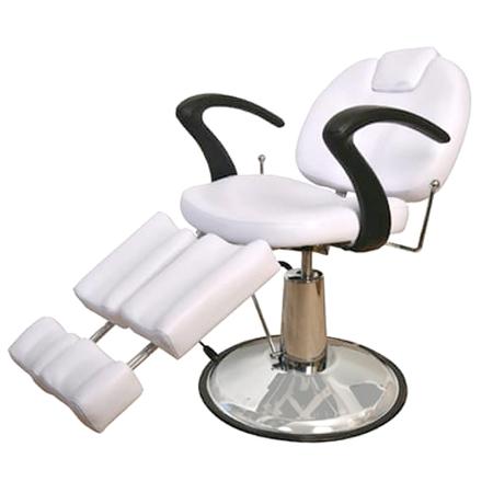 כיסא פדיקור מפואר (משענת רגליים נפרדת לכל רגל)