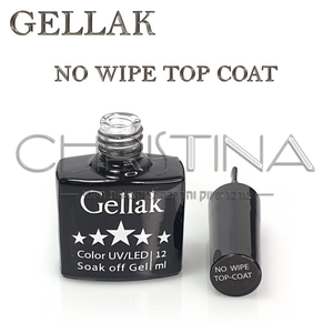 טופ ללא נטרול  - Gellak No Wipe Top Coat